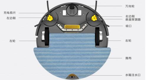 斐纳扫地机器人图片