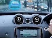欧司朗红外传感器实现对车载显示器的无接触控制
