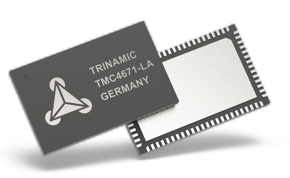 Trinamic推出最新改進的完全優化的TMC4671-LA伺服控制器IC
