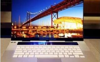 三星推出全球首款用于笔记本电脑的OLED显示器