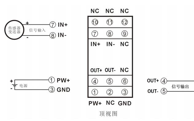 PWM脉宽调制信号输入模拟信号输出隔离变送器的数据手册免费下载
