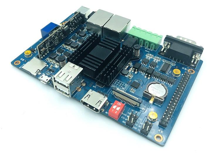 香蕉派BPI-F2P工业级开发板, 支持PoE,...