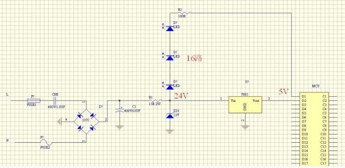 LED流星雨灯的制作(51单片机程序代码)