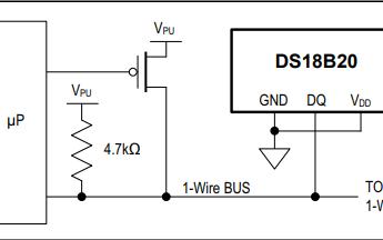 DS18B20可编程分辨率单线数字温度计的数据手册免费下载