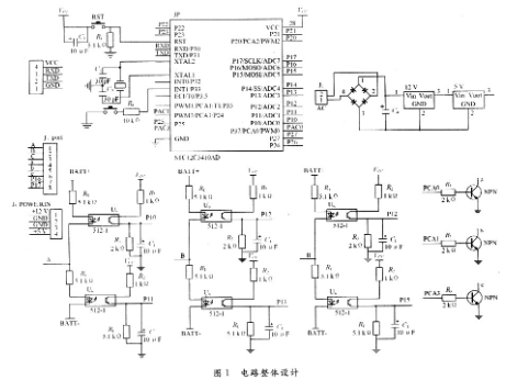 基于單片機和PWM控制方法調速實現無刷控制器檢測設計