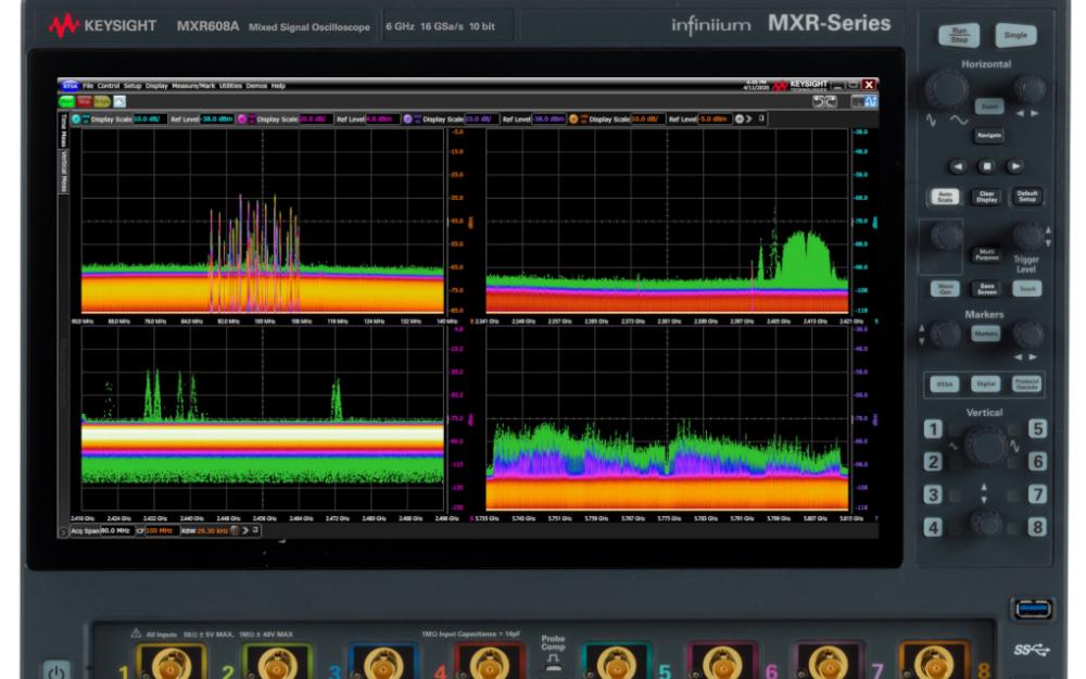 是德科技全新Infiniium MXR系列8合1示波器震撼登場