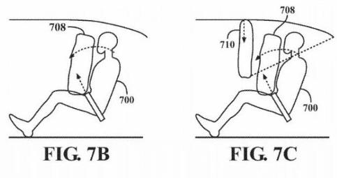 苹果汽车安全方面的新专利显示,所有座椅都面向车辆...
