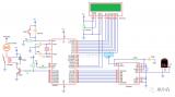 使用8051的控制直流风扇的温控电路