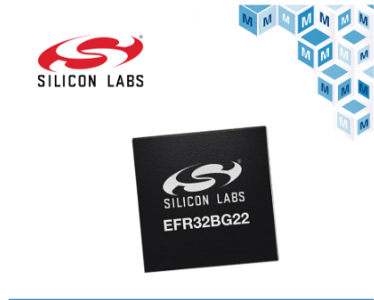Silicon Labs Wireless Gecko Series 2 SoC is available at Mouser