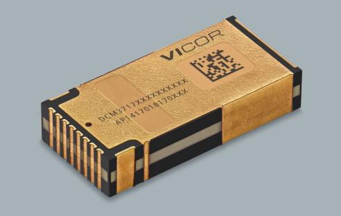 Vicor推最新穩壓轉換器DCM3717,可提供10.0至13.5V的穩壓輸出