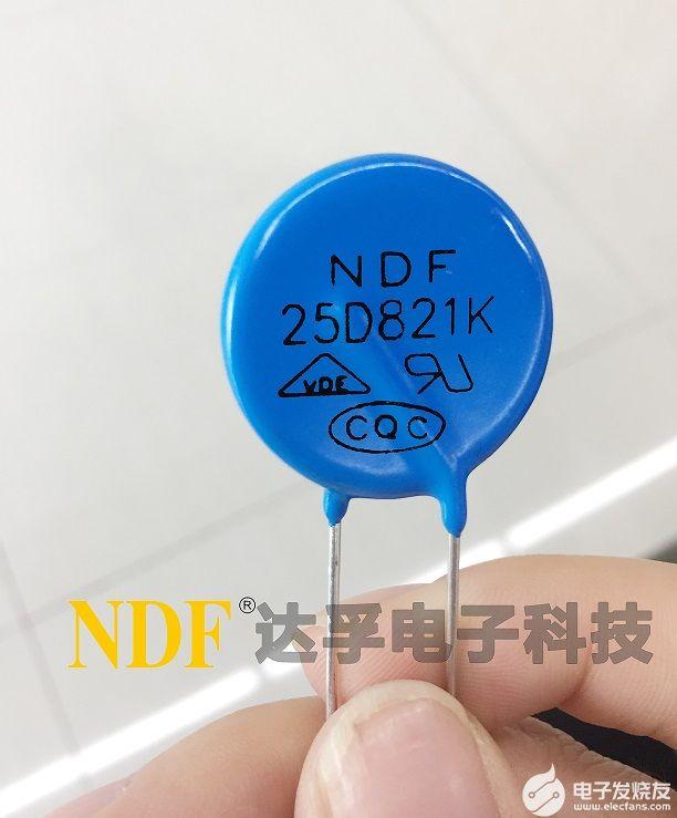 氧化锌压敏电阻器的主要参数