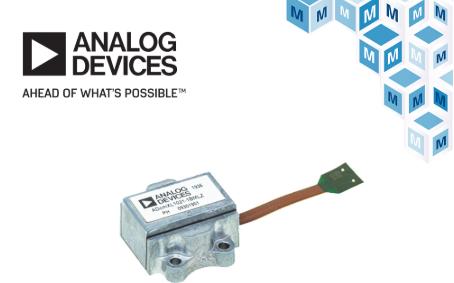 贸泽电子备货适用于工业系统的Analog Devices ADcmXL1021-1振动传感器