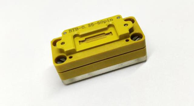 手机锂电池测试选用大电流弹片微针模组