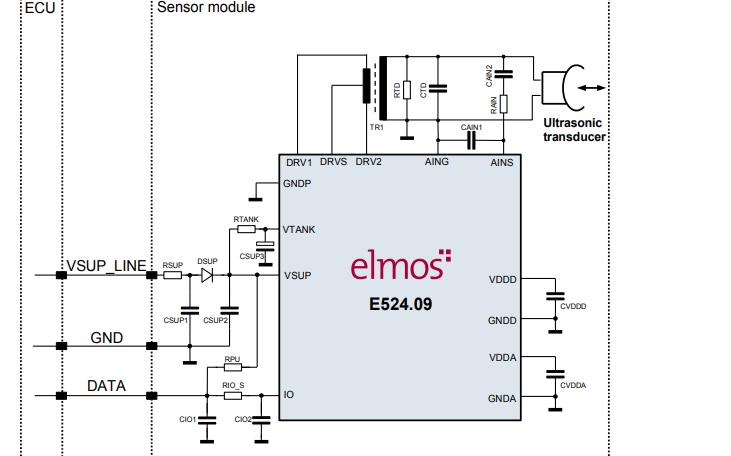 E524.08和E524.09超声芯片的数据手册免费下载