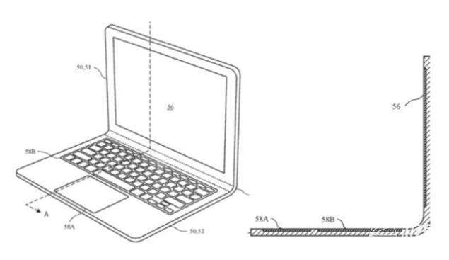 苹果新专利曝光_可弯曲的MacBook