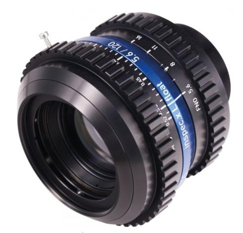 Excelitas Technologies推出适用于机器视觉应用的LINOS inspec.X L Float 5.6/120镜头