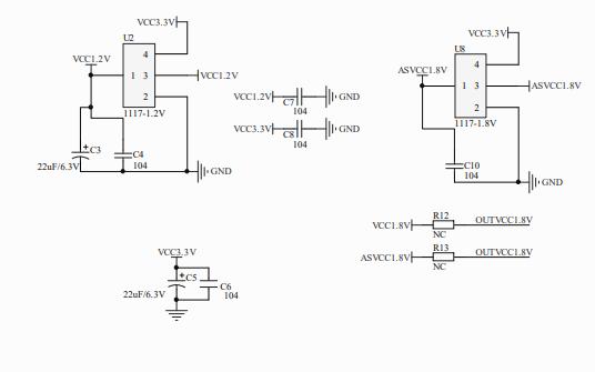 MIPI橋接芯片SSD2828的電路原理圖免費下載