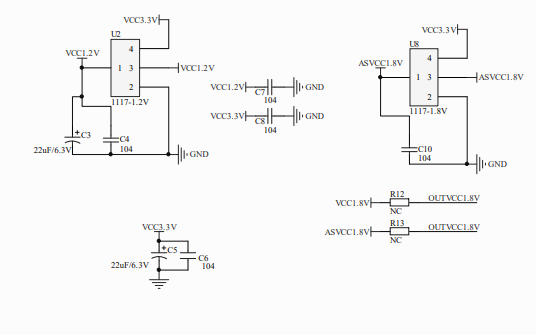 MIPI桥接芯片SSD2828的电路原理图免费下载