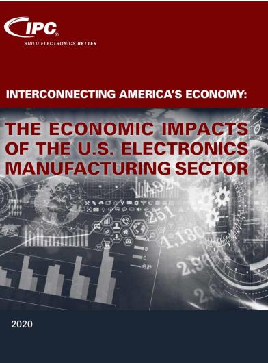 IPC 发布美国电子制造业的经济影响报告