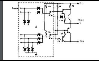 8位双向缓冲器芯片HD74LS54的数据手册免费下载