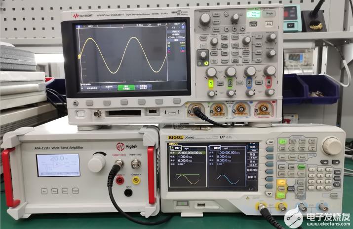 高精度水下声速测量实验
