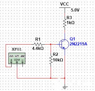 晶体管开关电路设计——晶体管选型与确定偏置电阻