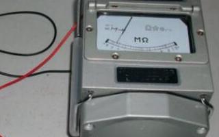 接地電阻測試儀同兆歐表的區別是什么