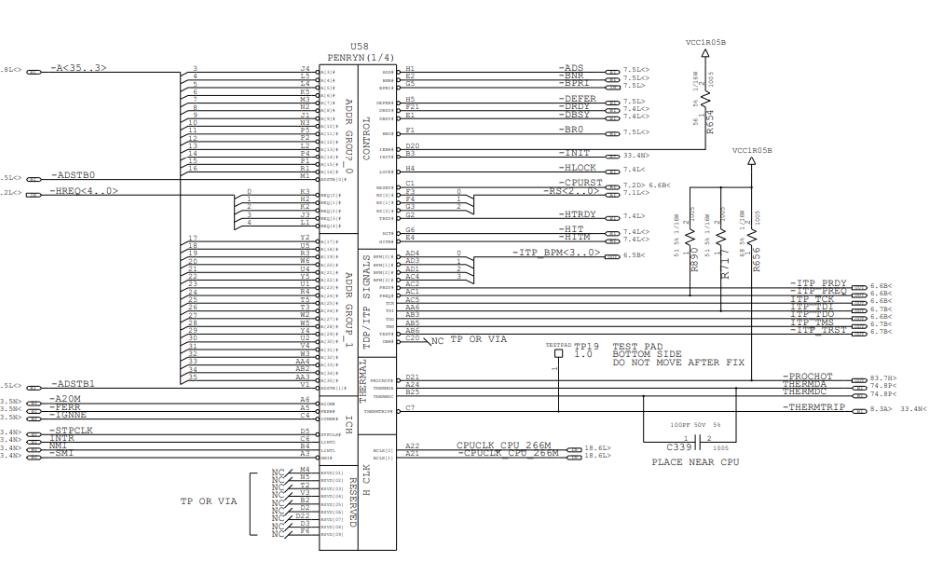 联想ThinkPad T500笔记本的电路原理图合集免费下载
