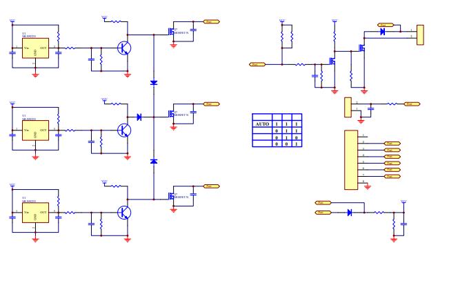 自動換擋器的電路原理圖免費下載