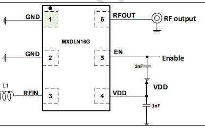 GPS低噪声放大器MXDLN16G的数据手册免费下载