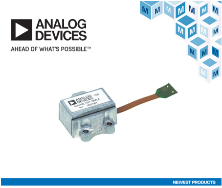 Mouser Electronics stocks Analog Devices ADcmXL1021-1 for industrial systems