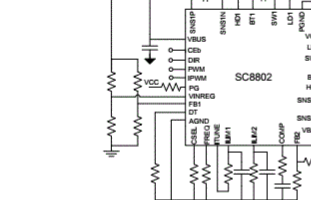 SC8802高效率同步4管双向升降压充放电控制器的数据手册免费下载