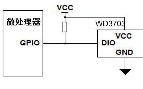 WD3703数字温度传感器芯片的数据手册免费下载