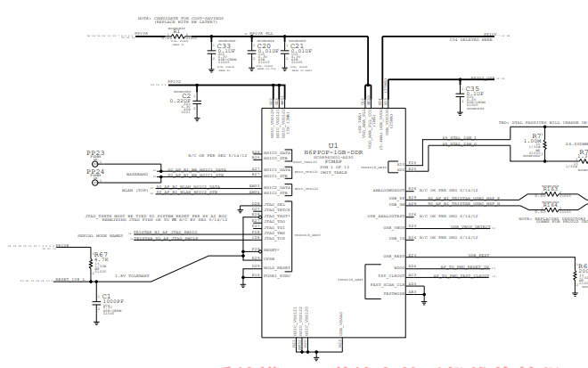 iPhone5S的元器件分布图和电路原理图免费下载