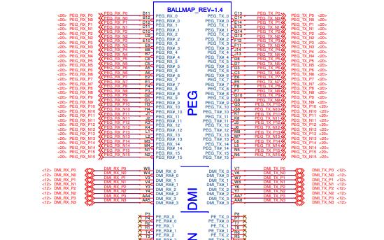 H61H2-LM5主板的電路原理圖免費下載