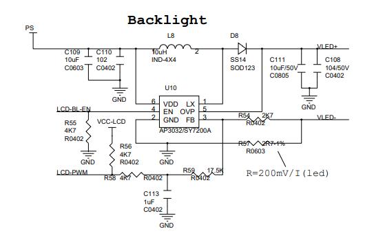 A23平板電腦的電路原理圖免費下載