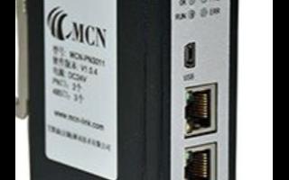 无锡艾默森Modbus TCP转Profinet网关常规数据