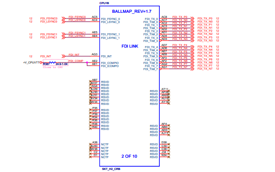 聯想H61H2-LM3主板的電路圖免費下載