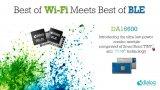 Dialog推出首款Wi-Fi + BLE组合模块