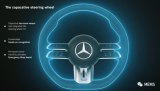 奔驰新方向盘覆盖电容式传感器:让系统监测变得更简...