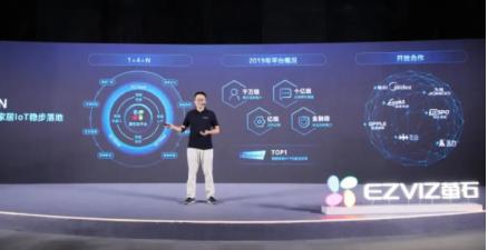 萤石发布EZIoT平台及企业萤石云,助力激活智能家居行业新业态