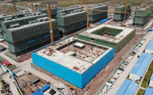 总投资465亿元!重庆京东方B12主体结构封顶
