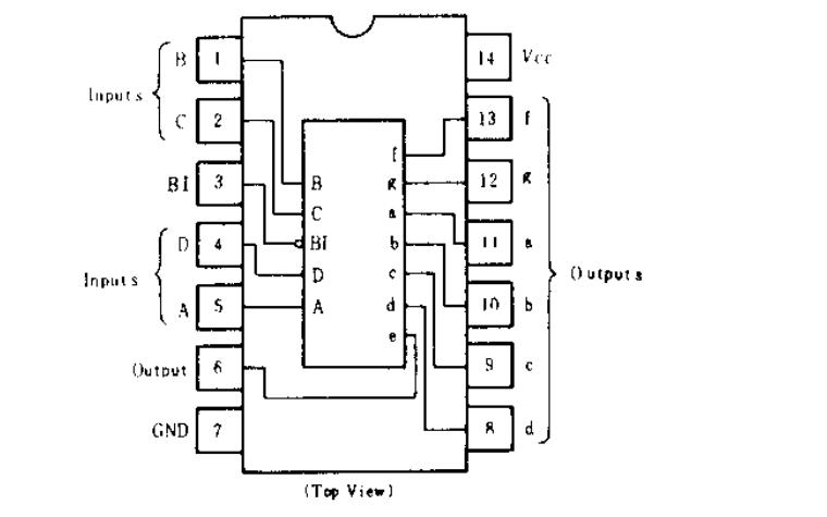 HD74LS49芯片的数据手册免费下载