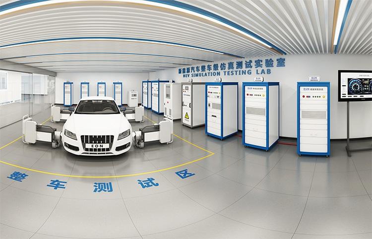 新能源汽车驱动系统各项性能整车级集成测试