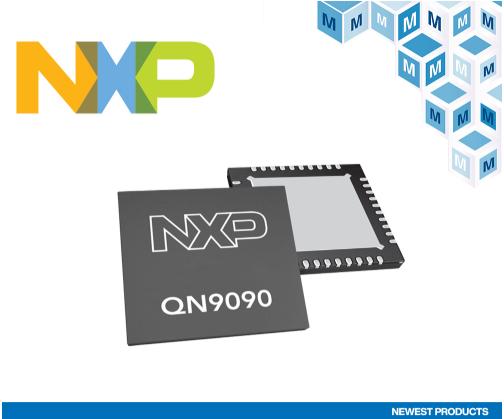 NXP QN9090和QN9030蓝牙5低功耗S...