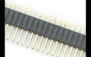 固定排針連接器插針的方法
