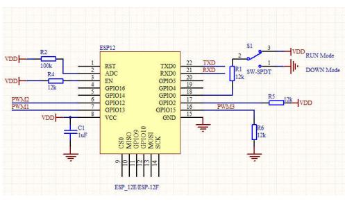 ESP-12F WIFI模块的数据手册免费下载