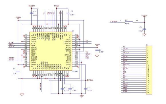 OV5640自動對焦攝像模組應用指南詳細資料說明