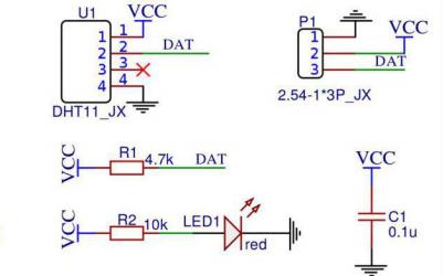 DHT11温湿度传感器模块的使用教程免费下载