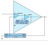 两个运算放大器组合可以实现更高的带宽